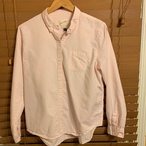 Universal Thread Goods Co. Pale Pink Size L Shirt